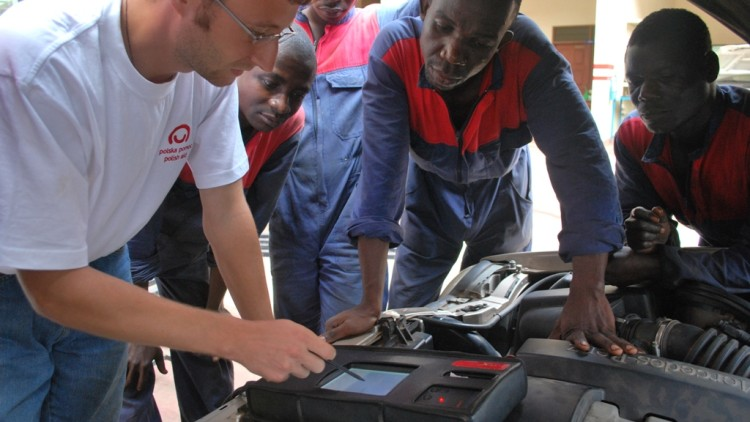Szkoła w Ugandzie
