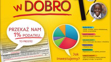 Zainwestuj w dobro – 1%!