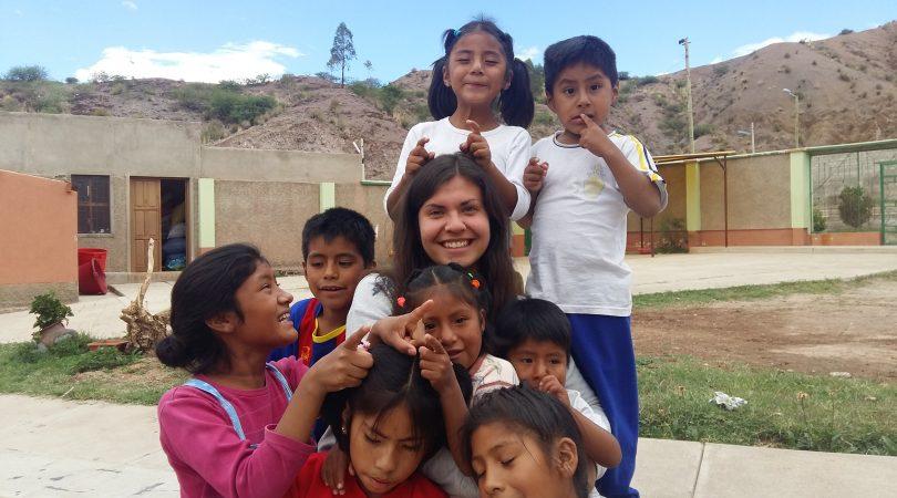 Magda z dziećmi, fot. Ola Nowak